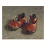 Arjan's first shoes