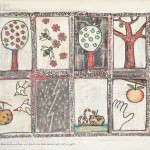 About birds and bees and flowers and trees and an apple