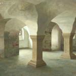 De Crypte van de stiftskerk St. Cyriakus te Gernrode, D (10e eeuw)