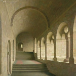 Kloostergang van de Abdij van Le Thoronet, F