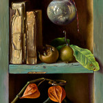 Chest with medlars